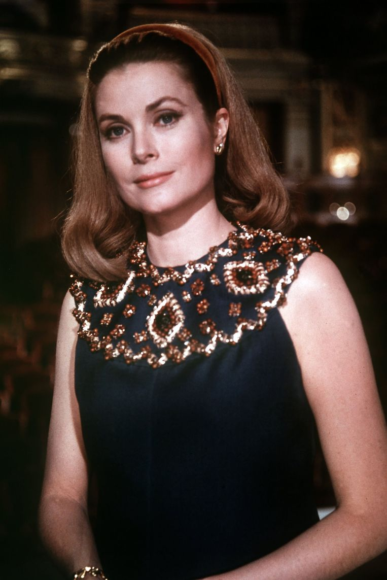 Portret van prinses Grace uit omstreeks 1967.  Beeld Photo 12/ Picture Alliance