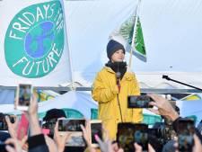 Greta Thunberg zegt sorry na opmerking 'wereldleiders moeten tegen de muur gezet worden'