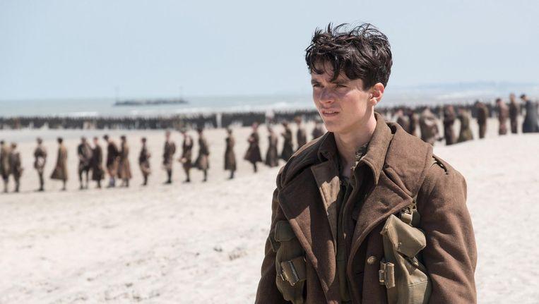 Nolan belicht Operatie Dynamo, de evacuatie van honderdduizenden Britse en geallieerde soldaten van het strand bij Duinkerke. Beeld Dunkirk