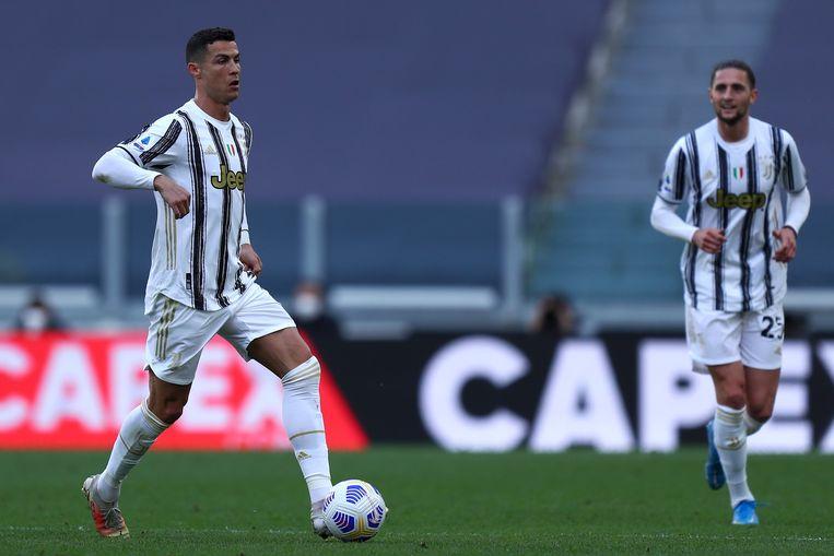Cristiano Ronaldo in actie tegen Internazionale. Beeld Photo News