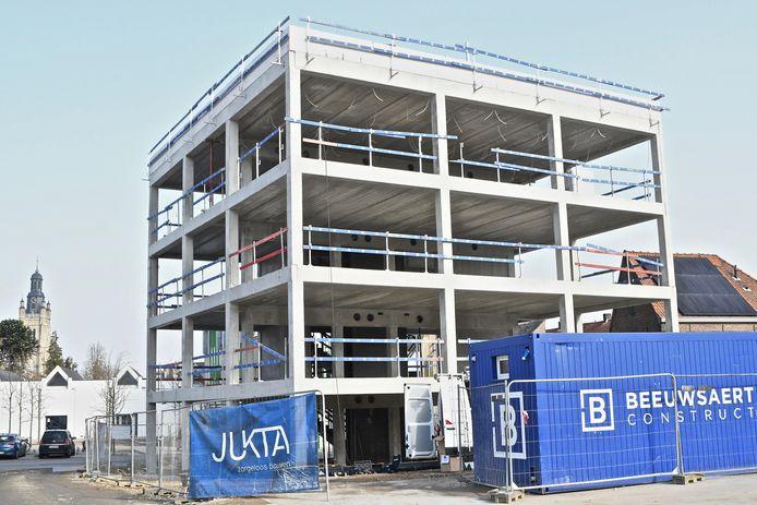 De nieuwbouw van CVO CREO.