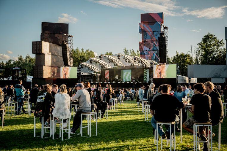 Vorige zomer organiseerde Rock Werchter een aantal coronaproof concerten, met onder meer Selah Sue.  Beeld RV Jokko