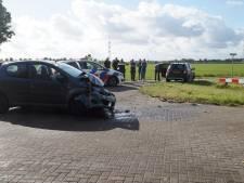 Botsing met twee auto's in Sprang-Capelle: automobilist gewond