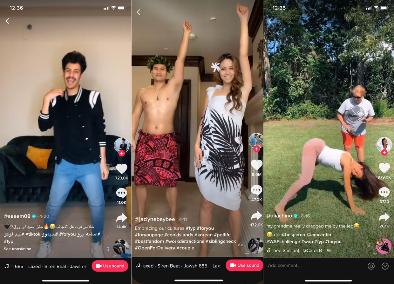 TikTok, waar miljoenen mensen dansjes delen, is minder onschuldig dan het lijkt. Beeld tiktok
