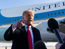 Trump toont zich voor het eerst sinds rellen weer in openbaar: 'Impeachment is grootste heksenjacht'
