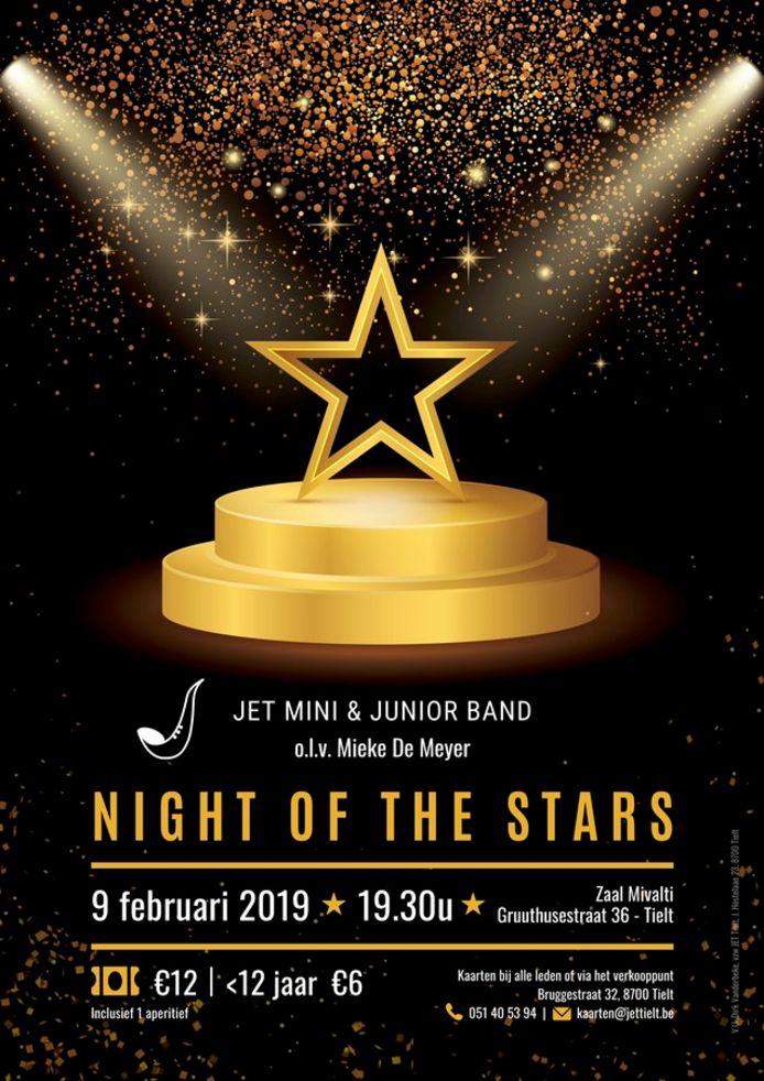 JET pakt uit met een 'Night of the Stars'