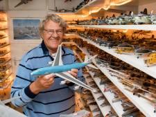 Leo (78) uit Tiel heeft meer dan duizend kleine vliegtuigen: 'Compleet beeld Nederlandse luchtvaart'