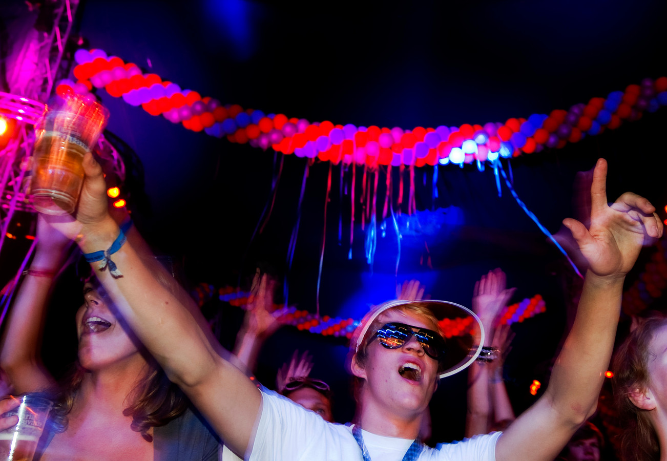 Een eerder feestje op de UIT-week. Foto ter illustratie.