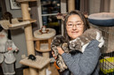 Samya Delforce van dierenasiel 't Kattenkwaad stapte naar de politie.
