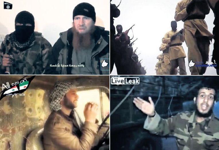 null Beeld Op YouTube zijn tientallen filmpjes te zien van de laatste momenten uit de levens van zelfmoordterroristen.