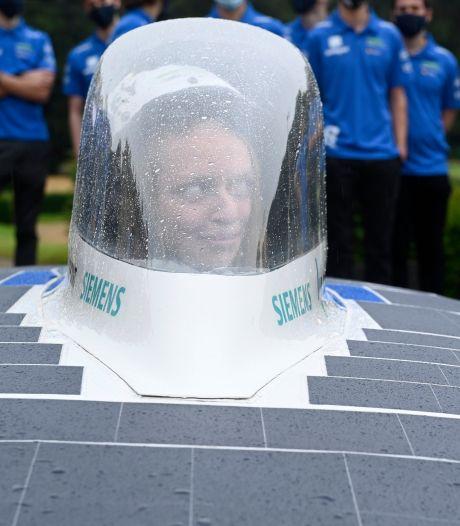 Le bolide d'Agoria Solar Team pour le Solar Challenge