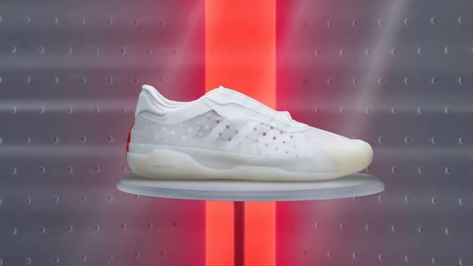 Adidas en Prada slaan opnieuw handen in elkaar en creëren sneaker met bijzondere veters