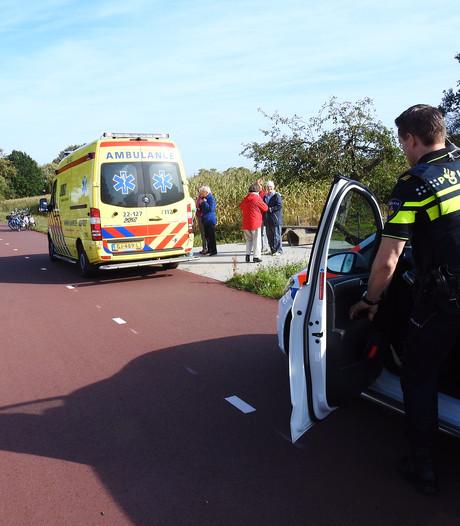 Fietsers in Son raken met sturen in elkaar, 5 gewond en 2 naar ziekenhuis