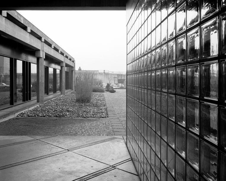Het drinkwatercomplex in Kralingen in 1989. Beeld Kim Zwarts
