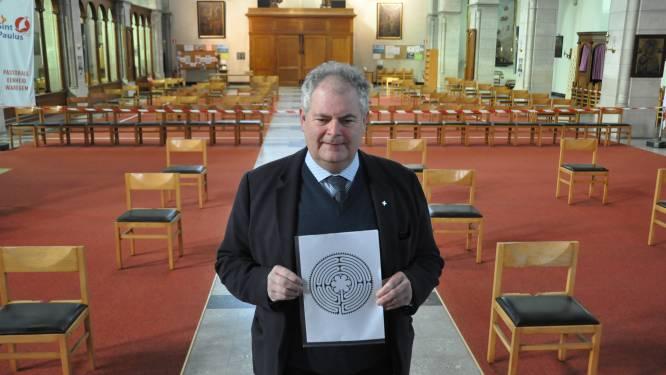 """In deze kerk kan je straks bezinnen op een metersgroot labyrint: """"Uniek in Vlaanderen"""""""