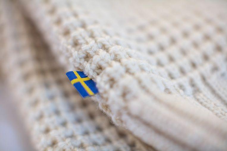 De wol van de eerste twee scheerbeurten resulteerde in een minicollectie van Fjällräven.  Beeld rv