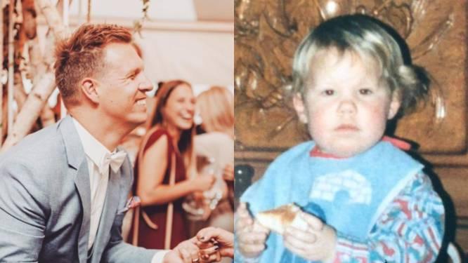 SHOWBITS. James Cooke zet z'n mama in de bloemetjes en van welke BV is deze schattige jeugdfoto?