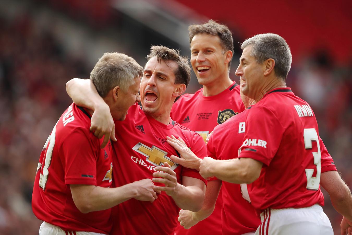United viert de 1-0 van Solskjaer.