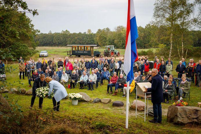 Vorig jaar, 75 jaar na fusillade, was er veel belangstelling voor de herdenking van De Zes van Kallenkote.