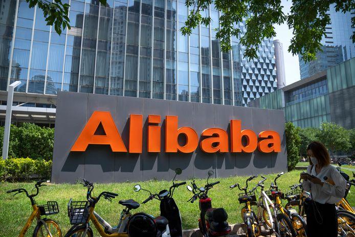 Kantoor van Alibaba in Beijing.