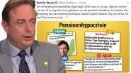 """De Wever reageert op pensioenuitspraak: """"Wij zijn eerlijk, de rest keert hun kar"""""""