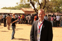 Dirk-Jan Omtzigt in Zuid-Soedan, het land waar hij vier jaar woonde.
