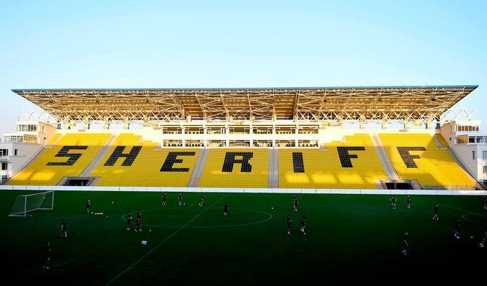 Le petit stade du Sheriff Tiraspol (12.000 places) accueillera les grandes joutes de la Ligue des Champions.