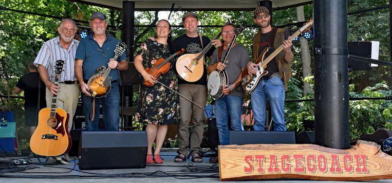 Folkband Stagecoach.