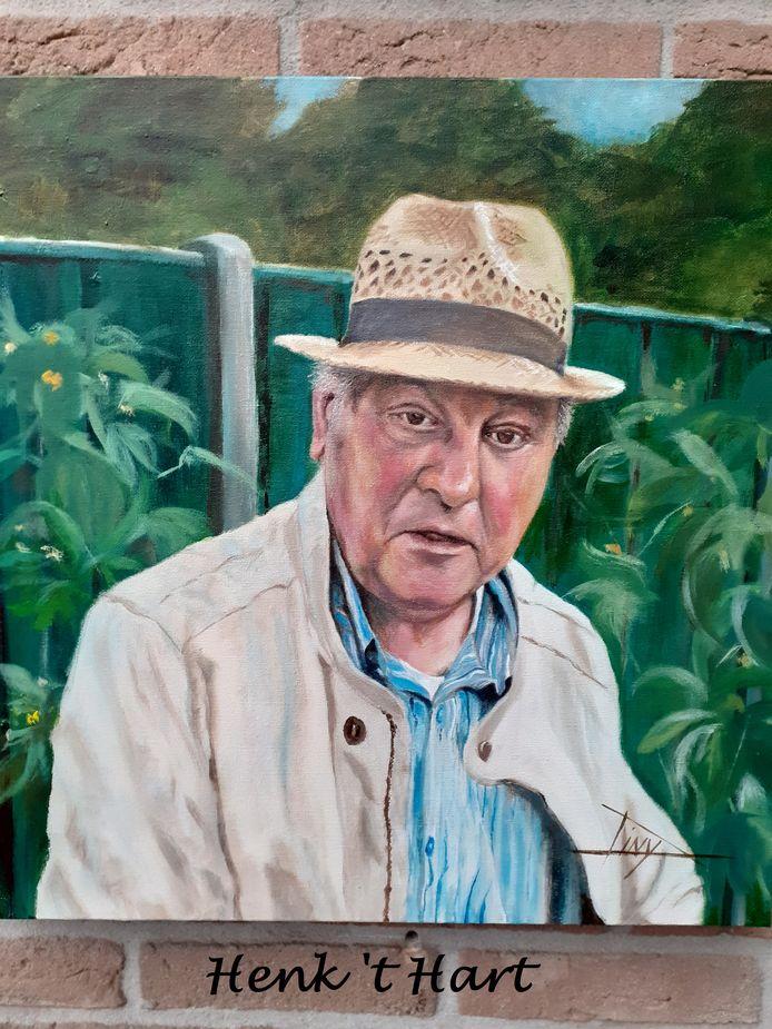 Een schilderij van 't Hart, gemaakt door Diny Herbrink