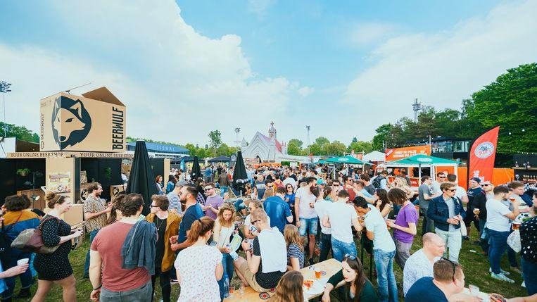 Bierfestival West Tapt is op vrijdag en zaterdag in het Rembrandtpark. Beeld Chee Jansen - TK Photography
