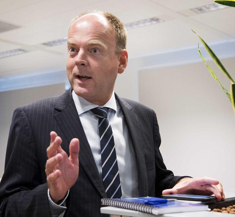 René Roorda, directeur van het Nederlandse Centraal Bureau Levensmiddelenhandel. Beeld anp