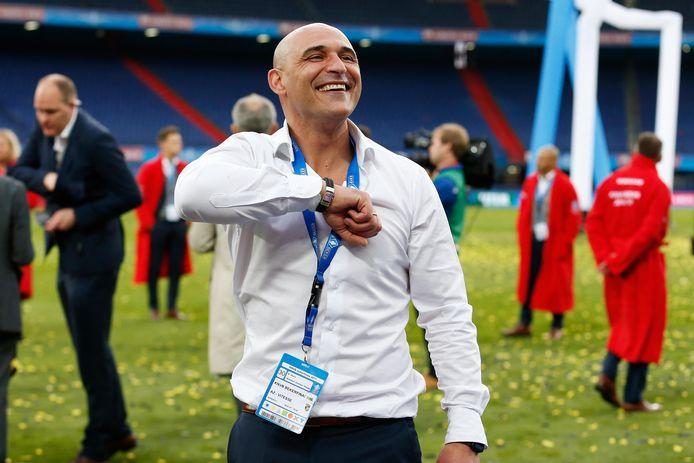 Mohammed Allach, de nieuwe technisch directeur van RKC Waalwijk, na de bekerwinst met Vitesse.