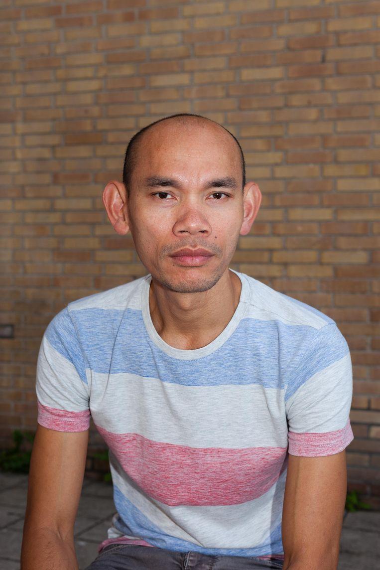 Bonar, gevlucht uit Indonesië. Beeld Nina Schollaardt