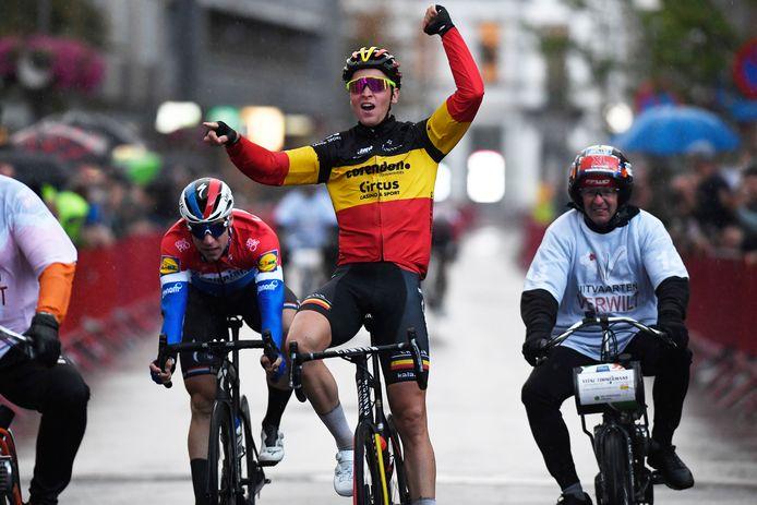 Belgisch kampioen Tim Merlier is er dit weekend bij in Meulebeke.