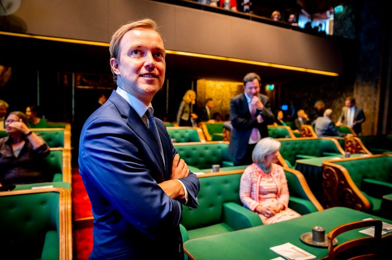 Lennart van der Linden Beeld ANP