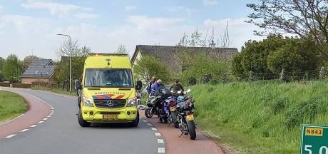 Bestuurder motorscooter gewond na slippartij op Neutraleweg tussen Groesbeek en Milsbeek