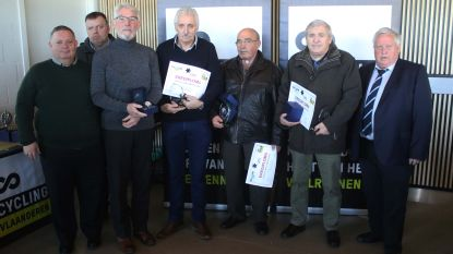 Leden Ossenwegse Sportvrienden Zoutleeuw gehuldigd