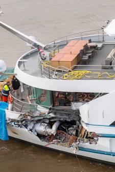 Schade Zwitsers cruiseschip enorm, ook extra bussen voor passagiers onderweg