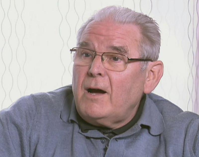 Vangheluwe tijdens het beruchte VT4-interview