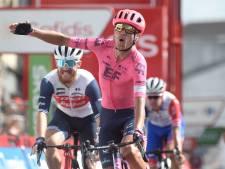 Cort snelt vanuit vroege vlucht naar hattrick in Vuelta, probleemloze dag voor leider Roglic