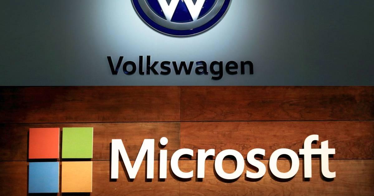 Volkswagen et Microsoft s'unissent pour développer la conduite autonome et connectée - 7sur7