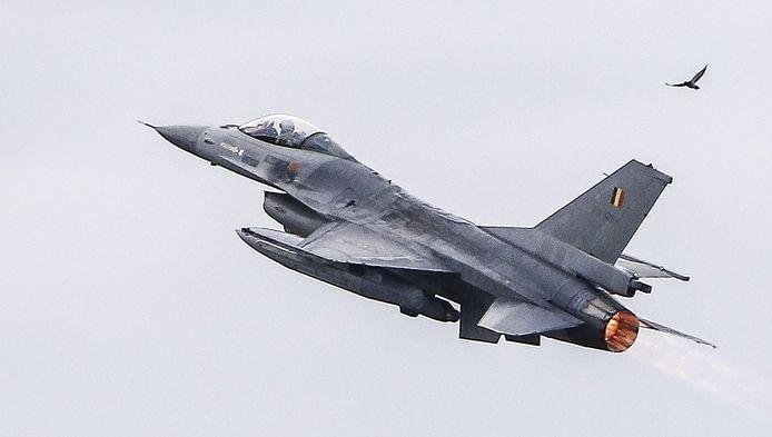 Un F-16 de la force aérienne belge.