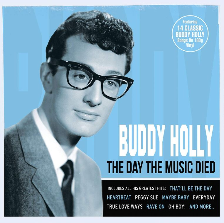 The Day the Music Died - Buddy Holly Beeld