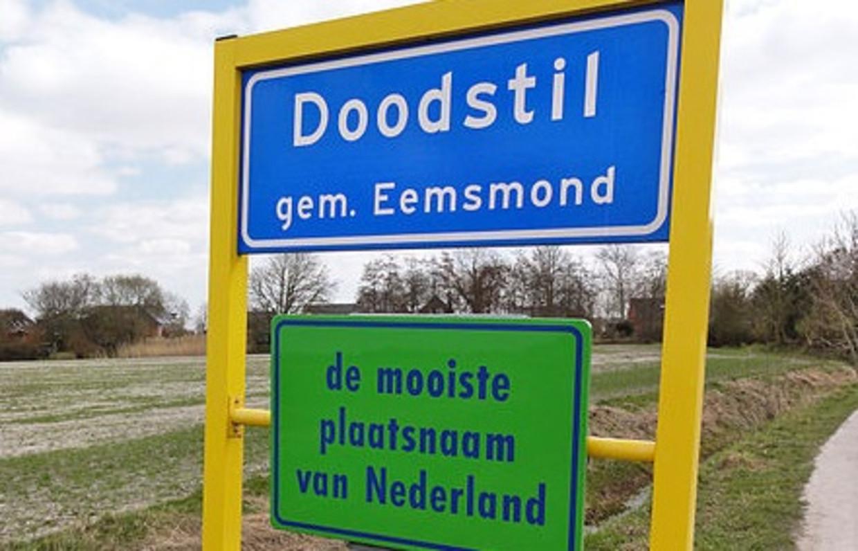 Het Groningse dorp Doodstil, in de voormalige gemeente Eemsmond (tegenwoordig Het Hogeland), krijgt een eigen soundtrack.  Beeld