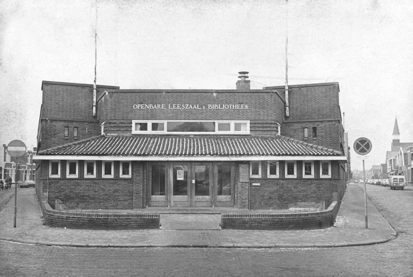 Oude foto van de bibliotheek van de Vondelstraat. En dus níet de Stork-bibliotheek, aldus Gerard Löbker.