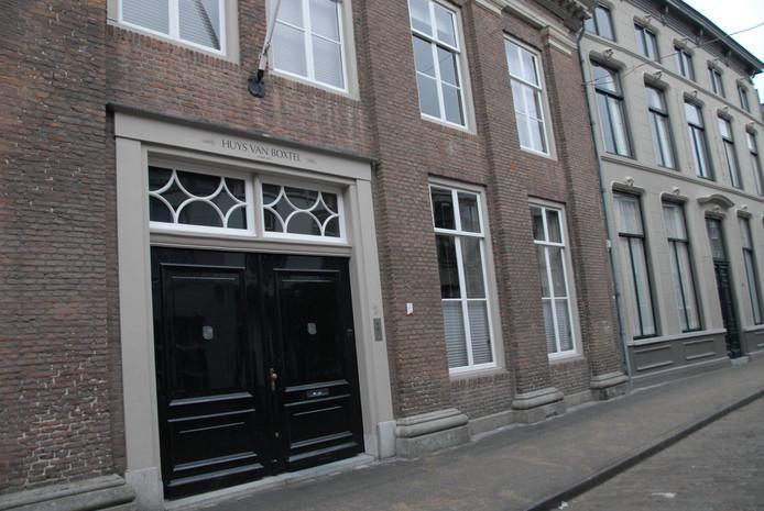 Het historische Huys van Boxtel in de Postelstraat, de fraai gerestaureerde woning van Ineke en Ton Meulman.