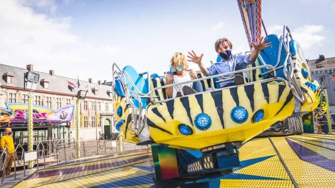 Zomerfoor op Sint-Pietersplein geopend, de zon is alvast van de partij