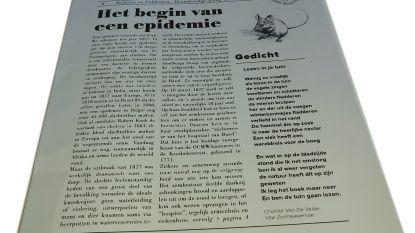 Heemkundige Kring Wissekerke brengt 'coronacourantje' uit