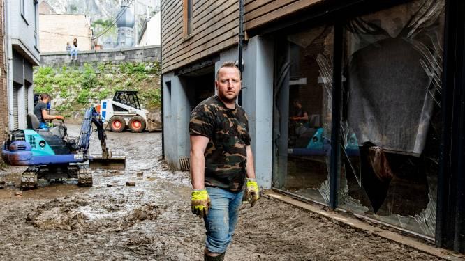 """""""We zouden slachtoffers Pepinster onderdak geven. Maar onze gîte werd zélf een aquarium"""": bij Frédéric (42) uit Dinant kwam het water vijf meter hoog"""