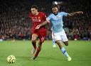 Liverpool was op Anfield te sterk voor City.